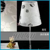 New arrive!! lamp Chinese style desk lamp Sunflower Pteris flower Lotus Lights  reading room bedroom