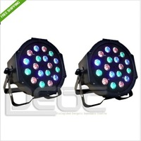 18X3W LED Par Light 54W RGB PAR64 DMX PAR Stage Lighting