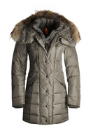 Free shipping 2013 real fur jacket women's winter outdoor clothing parkas  Angie MasterPiece 5 Years Down Coat With Fur Trim