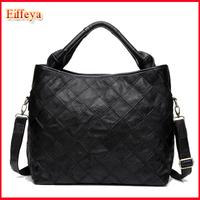 Ladies Black Large Purse 2015 Designer Shoulder Bags Women Leather Handbags,Black,Colorful