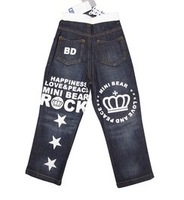 [CA] children's jeans new 2013 boy's jeans autumn & winter children pants brand jeans for boys casual jeans kids