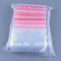 Hot New 100 x10x15cm Jewelry Ziplock Zip Zipped Lock Reclosable Plastic Poly Clear Bags 60-369