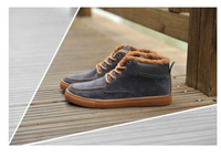New simple cotton men's casual shoes plus