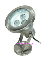 3W LED underwater light, SL304 stainless steel,high bright LED, RGB,warmwhite,white,12V DC,IP68
