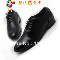 2013 Fashion Men Leather shoes black and white  business shoes for men Lace Up Oxfords for men