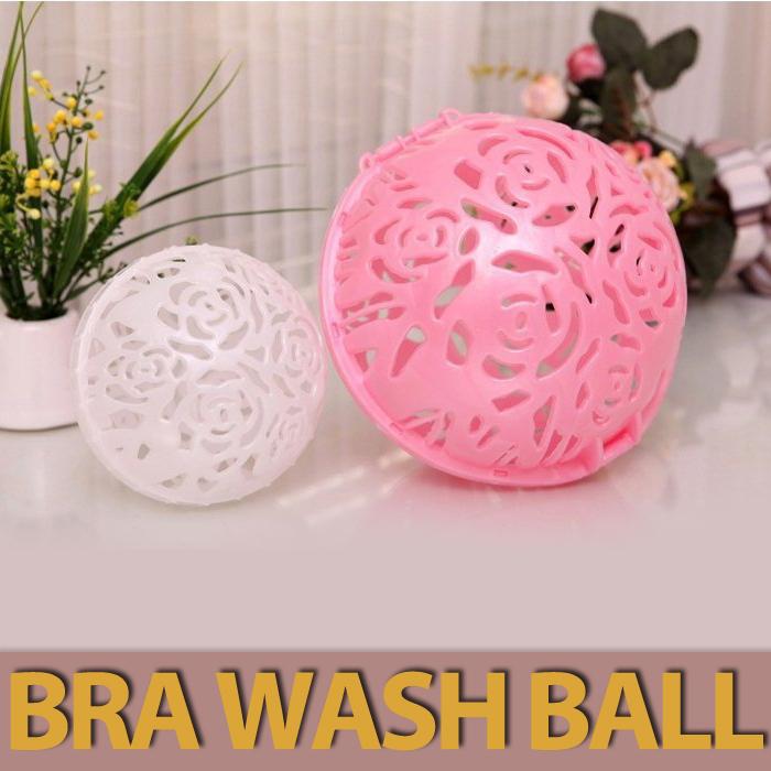 Free Shipping Creative Japanese new dual ball to protect nursing bra wash ball laundry bag#1568(China (Mainland))
