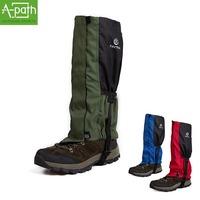 Winter warm breathable Waterproof Outdoor Hiking Skiing Climbing Hunting Trekking Snow Legging Gaiters Legwarmers Shoes Covers