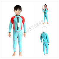 Neoprene diving suit diving suit in small children round collar clothes scuba diving  2.5mm YEC-658