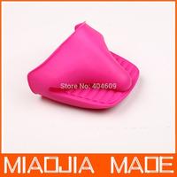 2pcs / lot  cake tools silicone gloves short High temperature resistant oven tools +250c -40c