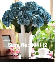 High Simulation Bunch of 7Head Silk Hydrangea Bunch