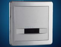 DC/AC concealed Flusher urine infrared sensor urinal automatic flush valve copper valve hotel bathroom auto accessories