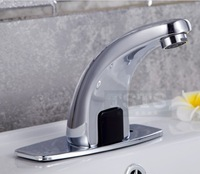 Automatic inflared Sensor water saving Faucets Inductive Kitchen bathroom Basin Sink electric Water Tap cold  water