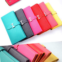 12 COLORS! HOT Sale Candy Color Fashion Lady Wallets Pu Leather Wallets Women Purse Clutch Women Bag Brand Design High Quality