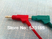 4mm  banana plug  test leads 50cm stackable banana plug testing cable  high voltage test leads  colorful cable