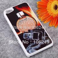 For iphone 5 5S case rhinestone luxury fashion design free shipping