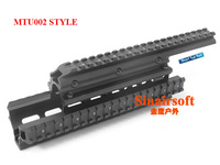 UTG Tactical Quad Rails  Fits Saiga 12 Ga. and Compatible Variants  Balck Covers