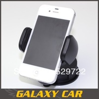 Universal 360degree spin Car Windshield Mount cell mobile phone Holder Bracket stands for mobile phone GPS