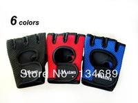new 2013 sport glove unisex autumn -summer slip-resistant  gloves women men cycling sports fitness for mens womens half finger