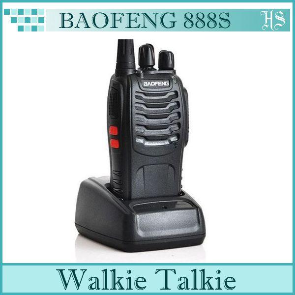 2014 Hot Sales BaoFeng 888S Walkie Talkie UHF 400-470MHz Two Way Radio/Handheld Wakie Talkie FM Transceiver(China (Mainland))