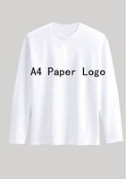 Happy New Year Wish Christmas White Custom T-Shirts Men Male %100 Cotton Long sleeve Fashion T-Shirt Free Shipping T-191517
