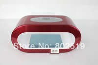 2014 New Long Life  LED UV Lamp 6W LED UV Gel Curing Lamp Red Colour Free Shipping