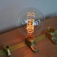 Carbon Art antique style light bulbs american vintage Edison lamp G80 Warm White E26 E27 110V 220V Halogen Bulbs,Home Decoration