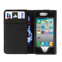 2014 HOT SALE for iphone 4 4s active case wallet CASE cellphone cover Free Shipping