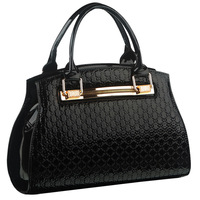 2013 new fashion female luxury bag ladies elegent handbag patent leather Designer Handbag / Shoulder bag / Ladies Totes