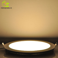 High quality 18w 2835 smd round led panel light 1620lm 85-265v 3 years warranty include power supply ceiling panel light