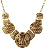 Vintage Jewelry Bohemian necklaces & pendants necklace earrings indian jewelry statement necklace gold necklacecolar bijoux