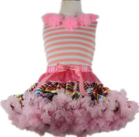 Fashion baby girls flower dance wear Rainbow tutu pettiskirts dress Birthday dress Birthday pricness skirts Party wear 2-9 Ys