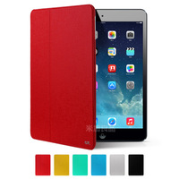 New Arrival PU Leather Cases Bracket Smart Wake Up Sleep Cover Full Protection Case for iPad Air Free Shipping+Stylus Pen