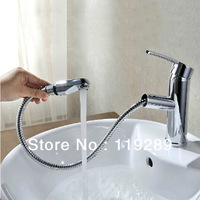 Pull out Bathroom Faucet.Special Designed For Washing face and Hair.Basin sink Pull out Mixer Tap.torneira banheiro