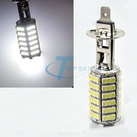 New 2013 120 SMD LED H1 Car Fog Light Headlight Lamp Bulb DRIVING 12V Pure White 4456# Luz LED Las Luces Del Coche