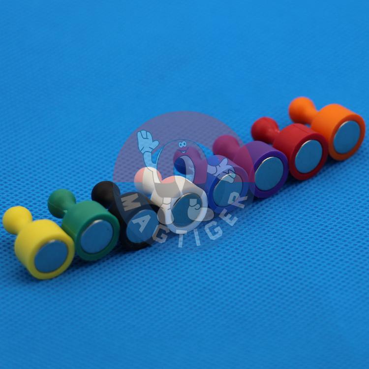 Гаджет  Free Shipping by DHL! 80 pcs/lot  Strong Magnetic ThumbtacksPush Pins Fridge Magnets Size: D12X20mm None Строительство и Недвижимость