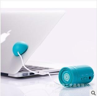 2013 New Vibration Stereo Speaker System MP3 MP4 Computer Cellphone Speaker musticker portable mini speaker(China (Mainland))