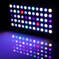 Wholesale - 2014 165W Dimmable LED Reef Lights For 24''x24'' Tank LED Aquarium Light For Coral Reef (Stock in USA,UK,AU)