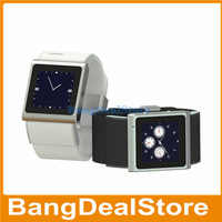 EC308 MTK6517 Dual Core 1.2GHz GSM Quad Band WIFI GPS Bluetooth Android4.0 Wrist Watch Smartphone