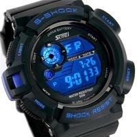 Men Sport Watch 30M Waterproof Multifunction Climbing Dive Watch LCD Movement Digital Watches men's Wristwatch