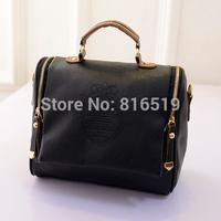 new 2015 autumn fashion preppy style stamp one shoulder bags women leather handbags women messenger bags women handbag tote
