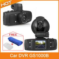 Free Shipping Hot Original Car dvr camera 1920*1080P Support HDMI full HD video Novatek DVR + 120 Degrees Wide Angle + G-Sensor
