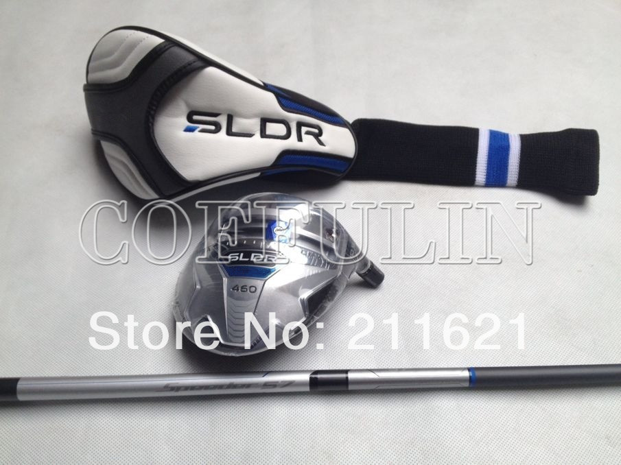 1PC SLDR 460 Golf Driver FADE DRAW 9.5/10.5loft Speeder 57 Graphite Shaft With Head Cover(China (Mainland))