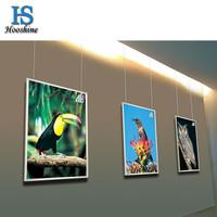Free shipping ultrathin led light box,poster size for A1,advertising aluminium poster frame