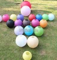 "New 2014 8"" Diameter Optional Colors Paper Lanterns Wedding Party Decoration 11 Colors 9178"