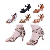 15 Colors Gorgeous Women's Ladies Latin Tango Ballroom Salsa Heeled Dance Shoes 213217 5CM Heel High