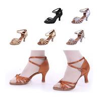 Sasha 15 Colors Gorgeous Women's Ladies Spike Heels Heeled Latin Tango Ballroom Salsa Dance Shoes 213217 7CM Heel High