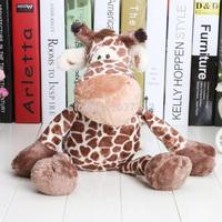 1pcs 35cm NICI Jungle Series Speckle Giraffe plush doll stuffed plush toy gift new arrival hot sale