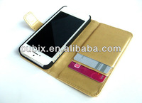 Hot selling wallet case for Iphone 5 iphone 5S free shipping