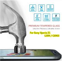 For Sony Xperia Z1 L39H C6903 ,  Original Magic Premium Tempered Glass HD Film Screen Protector Anti-Fingerprint Ultrathin