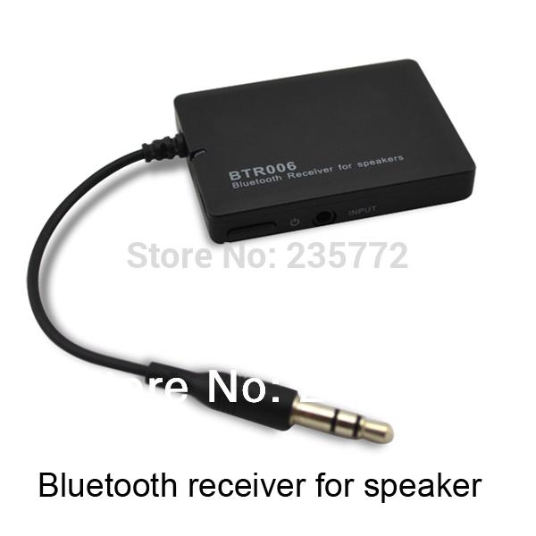 Musique bluetooth audio receiver, amplificateur avec 3.5mm adaptateur jack pour la maison et la voiture des systèmes d'enceintes hi-fi stéréo